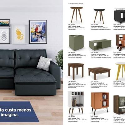 Lançamento: Casas Bahia apresenta novo catálogo de móveis