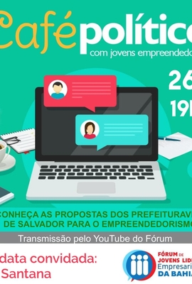 Segunda edição do Café com Prefeituráveis terá presença de Olívia Santana