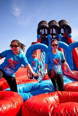 Extreme Fun Circuito de Infláveis chega à Salvador em outubro