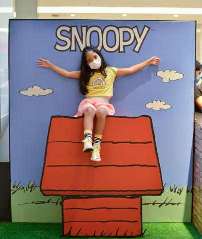 Exposição Turma do Snoopy chega para o Mês das Crianças no Shopping da Bahia